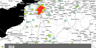 Animated map of First World War Casualties