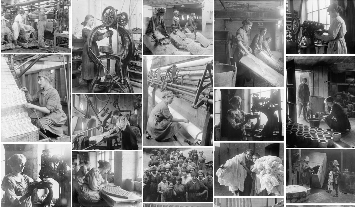 Women's War Work collection